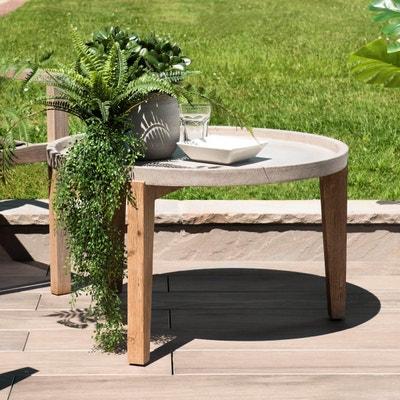 Salon de jardin en beton | La Redoute
