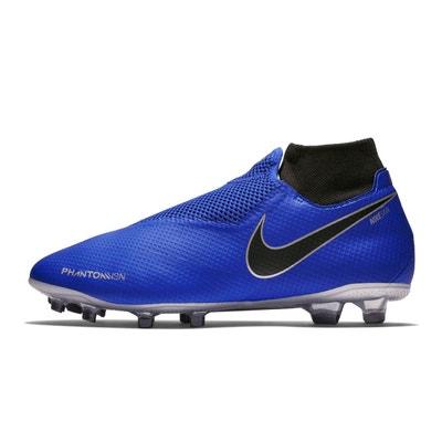 competitive price 89cd4 413e9 Chaussures football Nike Phantom Vision Pro DF FG BleuGris NIKE
