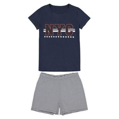 910169e702d5c Pyjashort pur coton 10 ans-16 ans Pyjashort pur coton 10 ans-16 ans