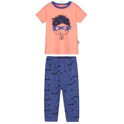 e03ce1c750668 Pyjama bébé 2 pièces Super Hero PETIT BEGUIN
