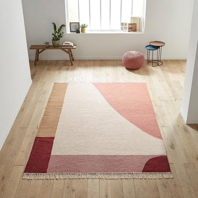 Plat geweven kilim tapijt in wol Ankara Plat geweven kilim tapijt in wol Ankara LA REDOUTE INTERIEURS
