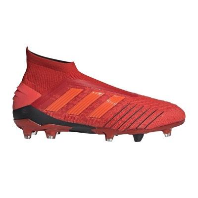huge selection of eda79 3b3c5 Chaussures football adidas Predator 19+ FG Rouge Chaussures football adidas  Predator 19+ FG Rouge