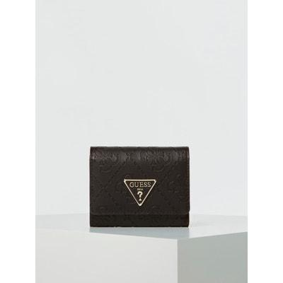 Guess Portefeuille Femme SG7102 LOGO LUXE SLG PASSPORT CASE Noir