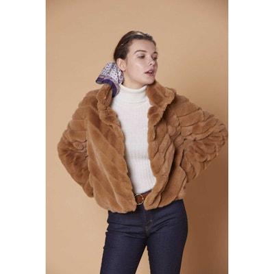 100% authentic free shipping fashion styles Veste fausse fourrure femme | La Redoute