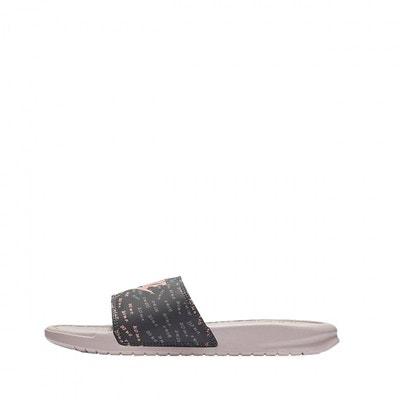 f360672f458 Sandales Nike W Benassi Just do it - Ref. 618919-605 Sandales Nike W