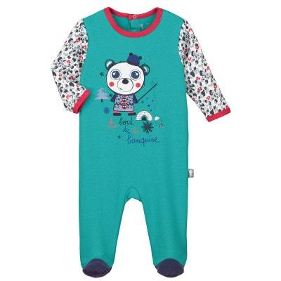 Pyjama bébé molleton Gros Dodo Pyjama bébé molleton Gros Dodo PETIT BEGUIN 4e36430ae6d