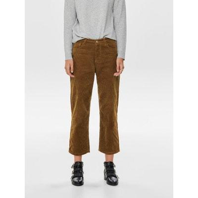 Pantalon velours marron   La Redoute