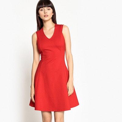 3fb4179371b Платье расклешенное с V-образным вырезом без рукавов LA REDOUTE COLLECTIONS