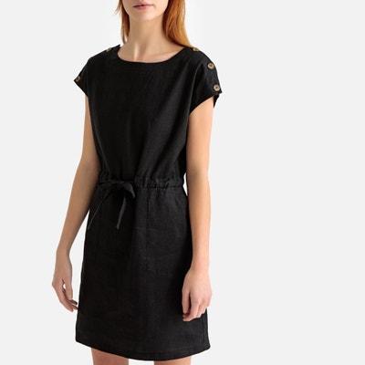 Vestido Negro Recto La Redoute