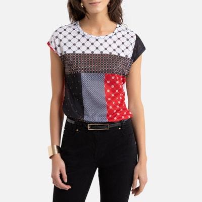 Soepel T-shirt met ronde hals en korte mouwen Soepel T-shirt met ronde hals en korte mouwen ANNE WEYBURN
