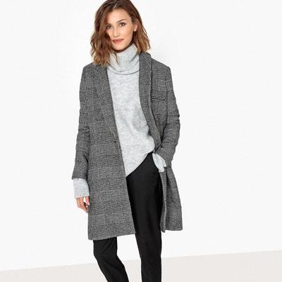 7cd2c4f0e7ef Manteau long masculin en laine mélangée SCHOOL RAG