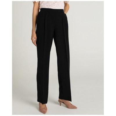 1caefc5490 Pantalon polyester viscose elasthanne femme | La Redoute