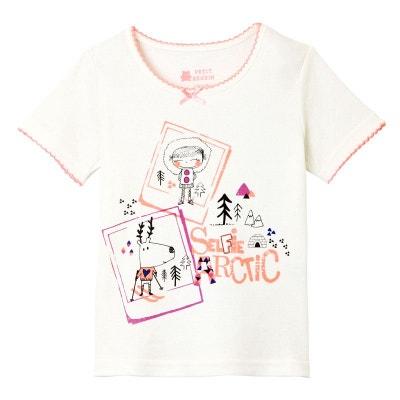 086ddae5c65b6 Tee shirt fille manches courtes Selfie Artic girl PETIT BEGUIN
