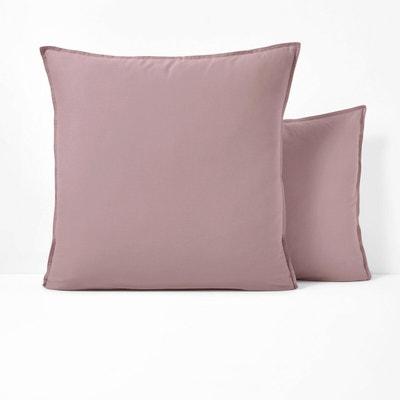 Paire de taies d/'oreiller seulement-Prune Rayures Rétro Imprimer même jour envoi *