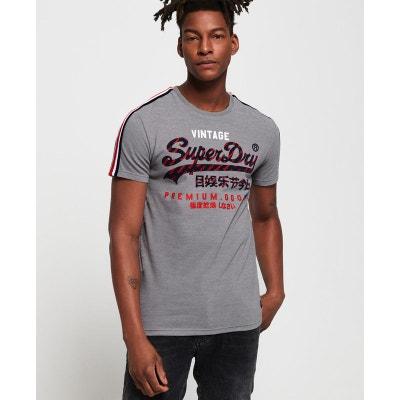 36956b79e155 T-shirt rayé dos nageur Premium Goods SUPERDRY
