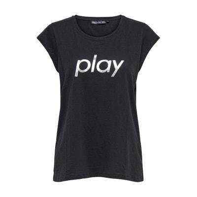 Hana Crew Neck T-Shirt Hana Crew Neck T-Shirt ONLY PLAY