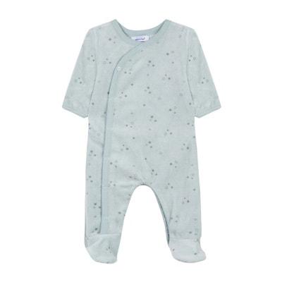 84b6b4be027a4 Pyjama en velours 3 mois - 12 mois ABSORBA