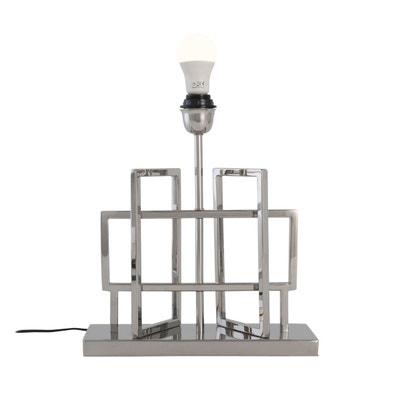 Lampe Pied Argent La Redoute