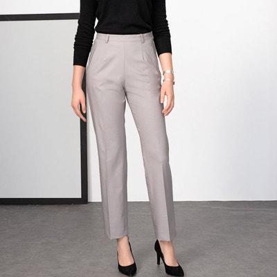 0d6863c4d72aa0 Pantalon femme gris anthracite | La Redoute