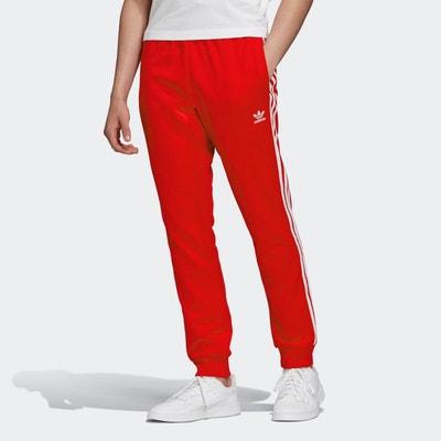 Jogging adidas rouge | La Redoute