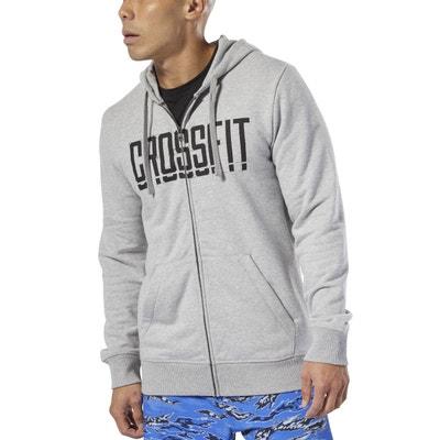 2c22ac600f9d Sweat à capuche et zip Reebok CrossFit® REEBOK SPORT