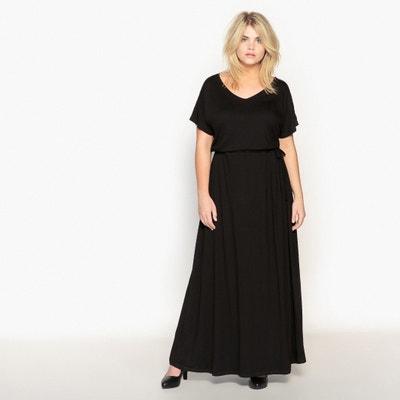 Lange jurk met lint aan de taille Lange jurk met lint aan de taille LA REDOUTE COLLECTIONS PLUS