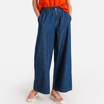 59772ea7b206 Jean culotte large taille haute Jean culotte large taille haute LA REDOUTE  COLLECTIONS