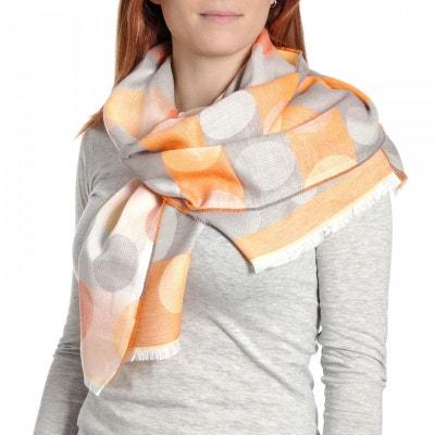 Echarpe légère Dorame Orange - Fabriqué en France Echarpe légère Dorame  Orange - Fabriqué ... c1d1f3c4135