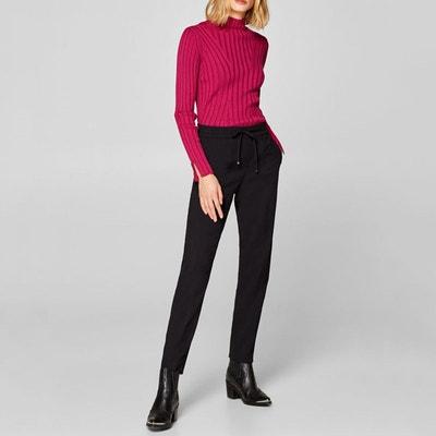 Pantalon droit femme en solde   La Redoute 44f061c07ca