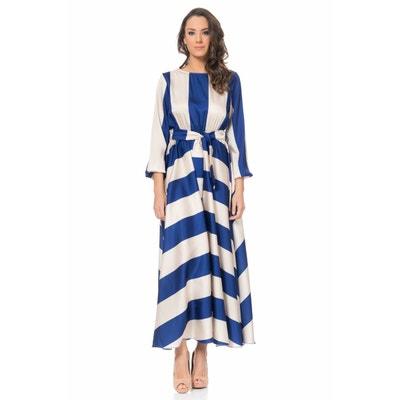 2887e50568 Robe longue à rayure Robe longue à rayure TANTRA