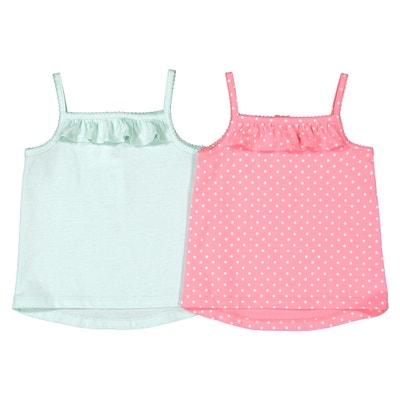 018169eda0 Lote de 2 camisetas sin mangas