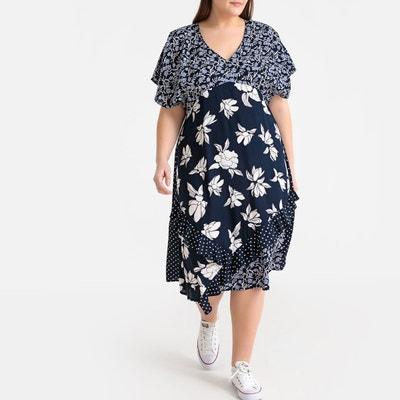 9be00e9affb56 Robe femme grande taille - Castaluna en solde | La Redoute