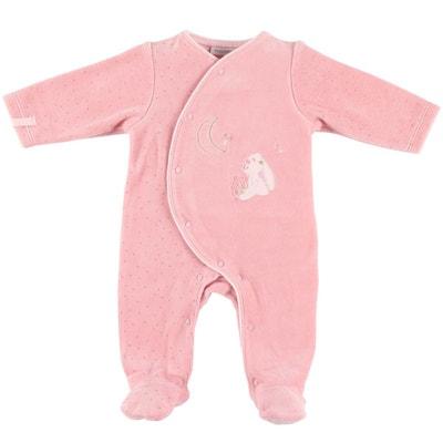 4b34d5d784a95 Pyjama grenouillère en velours Pyjama grenouillère en velours NOUKIE S