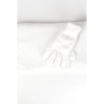 Set gants et écharpe maille Set gants et écharpe maille BREAL 022ccd1d360