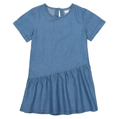 60fcb44b4ec0c7 Wijd uitlopende jurk met korte mouwen LA REDOUTE COLLECTIONS
