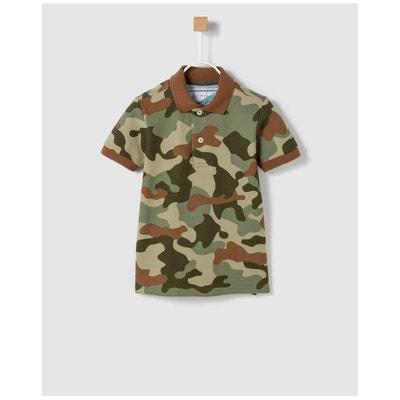 d3dba08c103ee Polo imprimé camouflage BASS 10