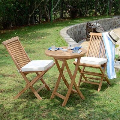 Mobilier de jardin TECK ATTITUDE | La Redoute