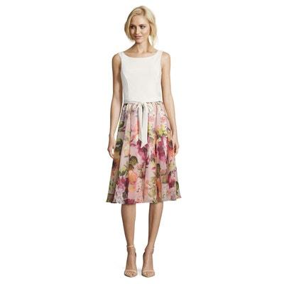 c0c8f84090ea7 Robe d'été à imprimé à fleurs VERA MONT