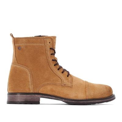 a24df3df5ed Boots en cuir suede JFWRUSSEL Boots en cuir suede JFWRUSSEL JACK   JONES