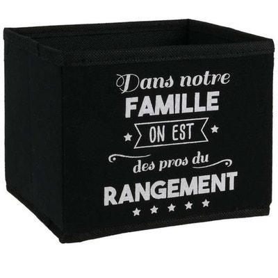Cube De Rangement Noir La Redoute