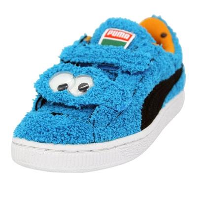 adbe356b05eb6 Puma SESAME STREET BASKET Chaussures Mode Sneakers Enfant PUMA
