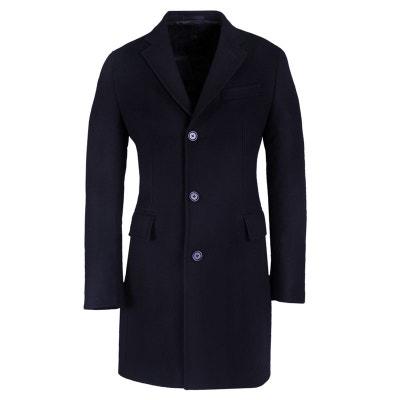 Manteau long en laine et cachemire BRUCE FIELD 57247b3ef963