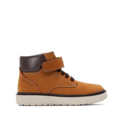 caf8e64d Zapatillas de caña alta de piel J RIDDOCK BOY WPF GEOX