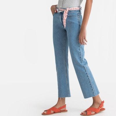 Bootcut Jeans mit verkürztem Bein