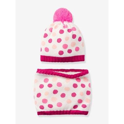5122eef9a90d Bonnet, gants fille - Accessoires enfant 3-16 ans en solde   La Redoute