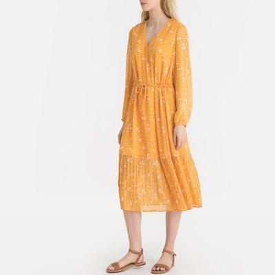 359234b9e3 Floral Print Tie-Waist Boho Midi Dress Floral Print Tie-Waist Boho Midi  Dress