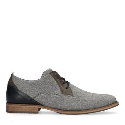 7fc13ad6161 Chaussures à lacets textile basses décontractées Chaussures à lacets  textile basses décontractées SACHA