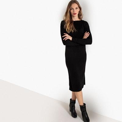 Vestido Negro Recto  bcf7cdbb5d73