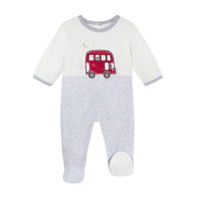 Pyjama en velours 3 mois - 12 mois Pyjama en velours 3 mois - 12 mois.  ABSORBA 221f06e7e48