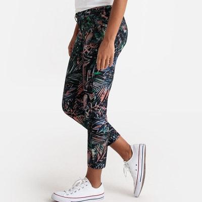 54284125cf3 Pantalon slim taille haute coupe 6 poches Pantalon slim taille haute coupe  6 poches FREEMAN T